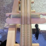 1ST INKLE LOOM WEAVING