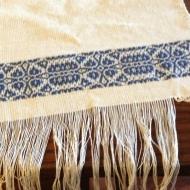 GUEST TOWEL OVERSHOT TRIM